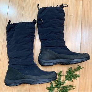 COLUMBIA Erial black waterproof snow boots, 9.